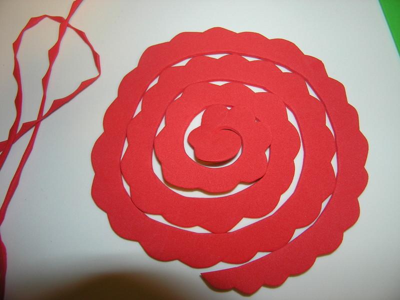 Tutorial Flor Goma Eva rosa 3D Lolicas