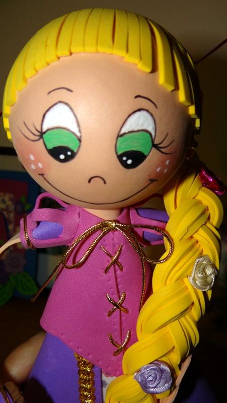 Rapunzel, una chica conrecursos